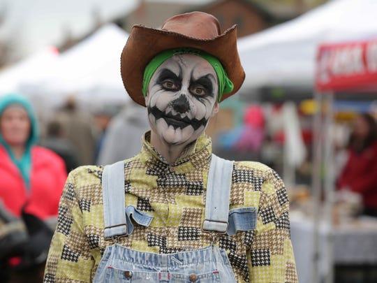 Kalleen Chilcote attends the Historic Irvington Halloween Festival, Saturday October 31st, 2015.