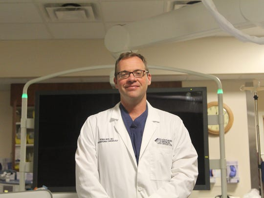 Interventional cardiologist Dr. Thomas Noel operated