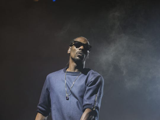 Snoop Dogg performs at Ak-Chin Pavilion in Phoenix
