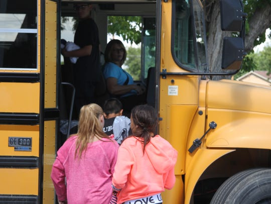 About 3,000 Carlsbad students ride the bus this year.