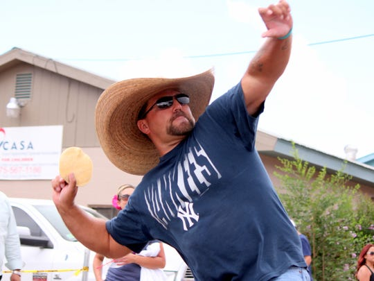 The Deming MainStreet Great American Tortilla Toss is slated for 2 p.m. on Saturday at McKinley Duck Downs (Luna County Courthouse Park).