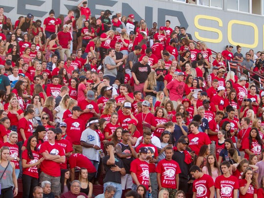 Dixie State football fans welcome the first game of