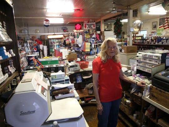 Joy Brown, owner of Bo Lynn's Grocery in St. Marks,