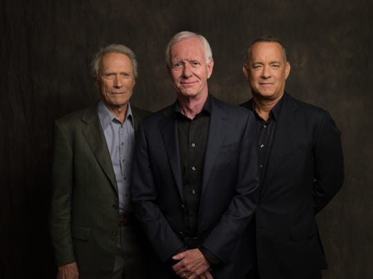 """Clint Eastwood (from left), Captain Chesley """"Sully"""""""