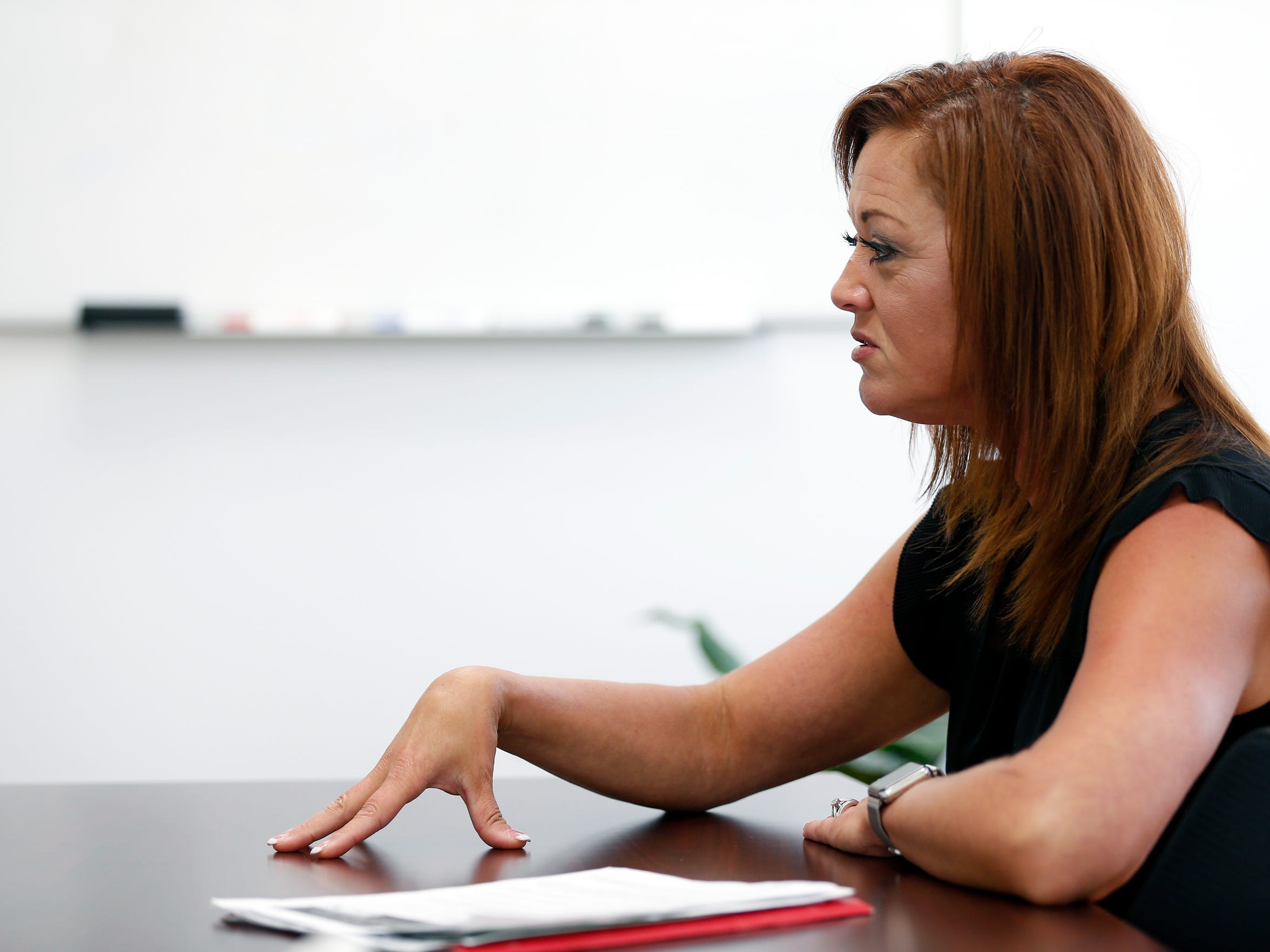 Community Mental Health Liaison Melissa Daugherty talks