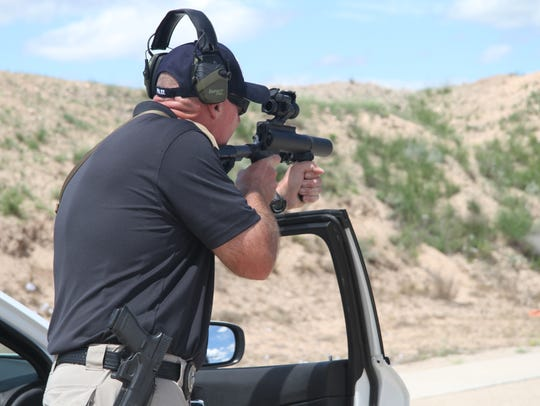 Officers are required to demonstrate proficiency in
