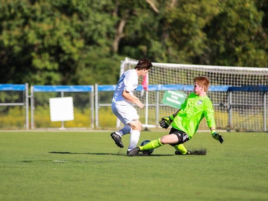 Caravel vs Salesianum boys soccer