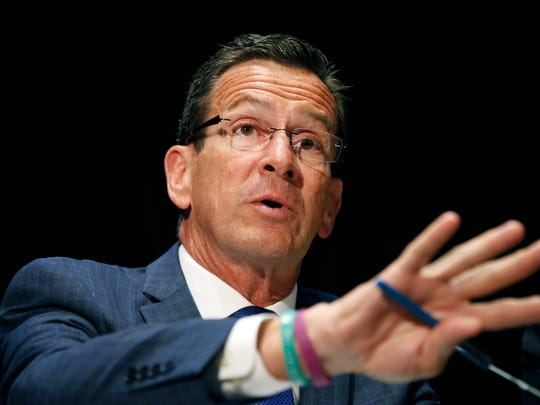 Connecticut Gov. Dannel Malloy's proposed budget includes a plan for local governments to set up charitable contribution programs to allow for greater income-tax deductions.