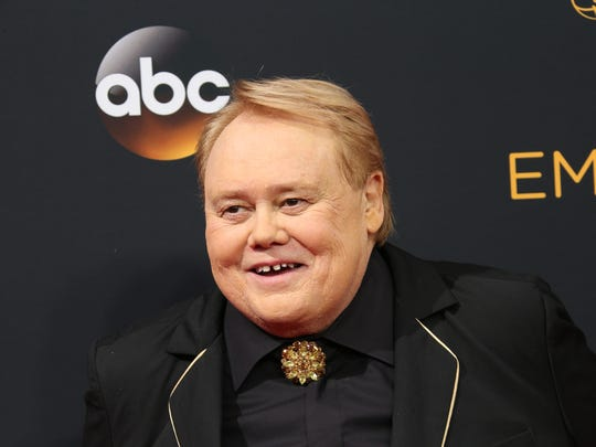 Louie Anderson arrives on the red carpet during 68th