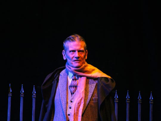 "Jim Sargeant as Sir Charles Baskerville in ""The Hound"