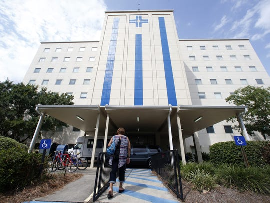 Joe Rondone/Democrat Tallahassee Memorial HealthCare Tallahassee Memorial Hospital on Friday, July 24, 2015.