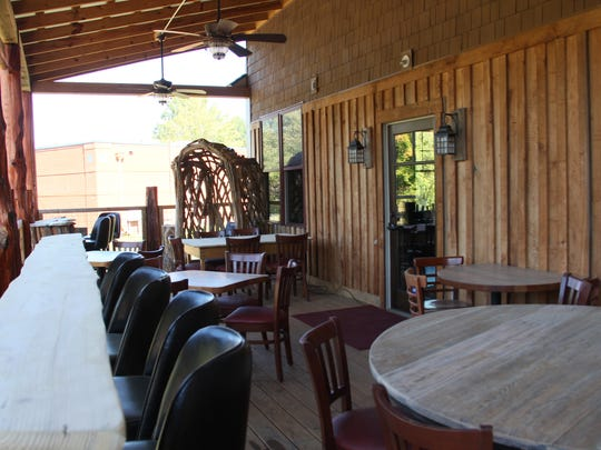 Indoor and outdoor seating will be available at Elkmont Tap and Cellar, which will showcase artisan beer, soda, chips and sandwiches.