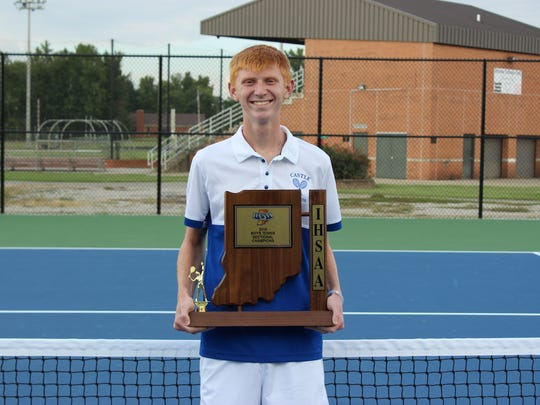 Evan Bottorff, Castle boys' tennis
