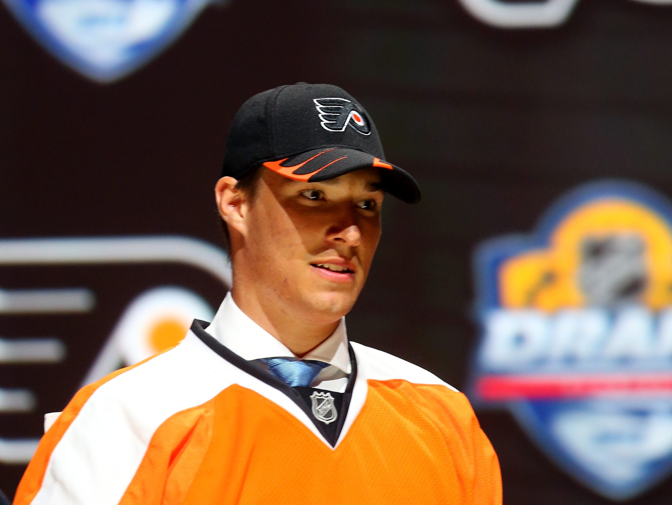 The Flyers selected Ivan Provorov seventh overall in