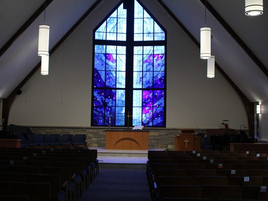 Gethsemane stained glass