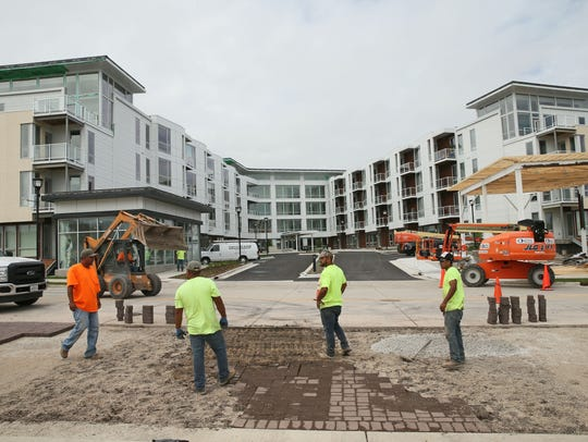 Emerald Row apartments, in Oak Creek's Drexel Town Square mixed-use development, will be adding a second building -- with city financing help.