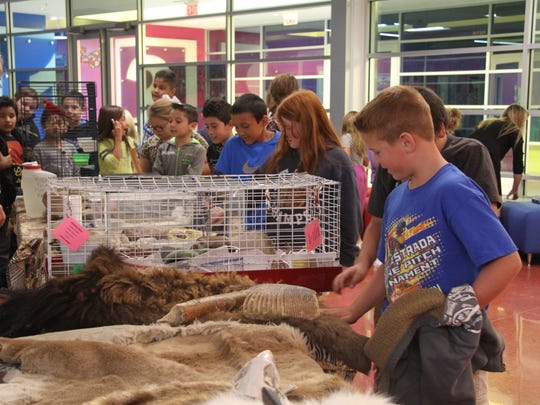 The Zoo to You program travels throughout New Mexico to educate students on various animals in the world.