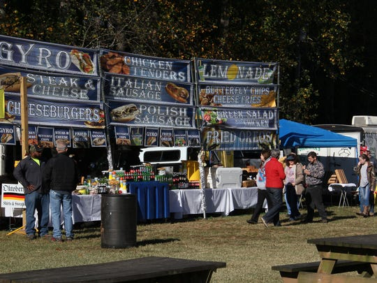 Those who attended the 38th annual Oktoberfest in Walhalla