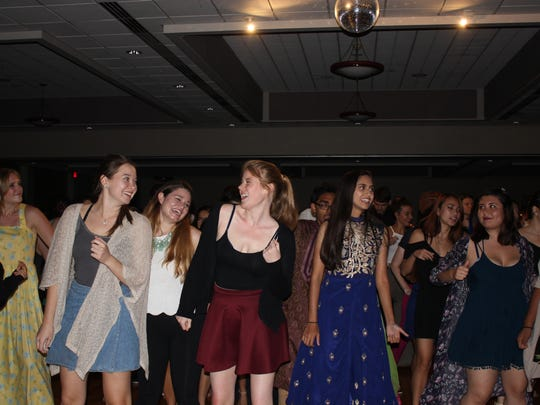 Students joined in on a Dance Party at the FSU ISA's