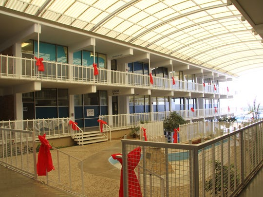 Carlsbad High School's Business Professionals of America decorated the school. BPA will add a banner to the decoration.