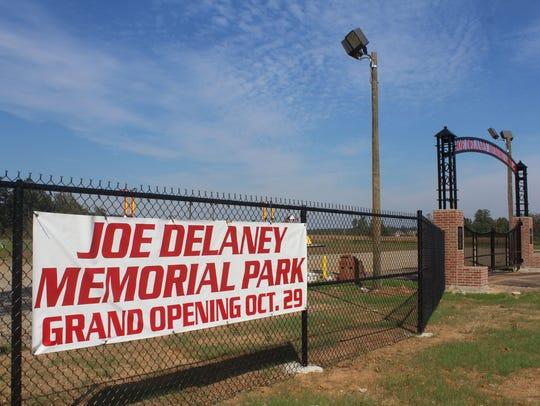 The long-awaited Joe Delaney Memorial Park will open