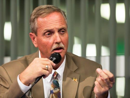 Commissioner Bill McDaniel