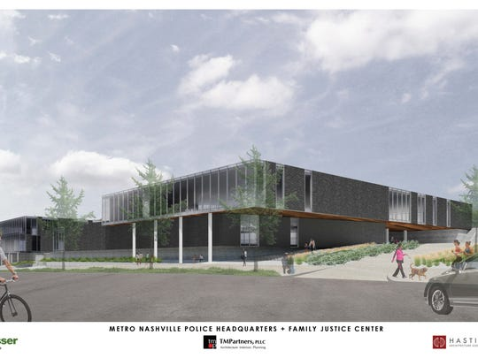 Family Justice Center rendering along Murfreesboro Road.