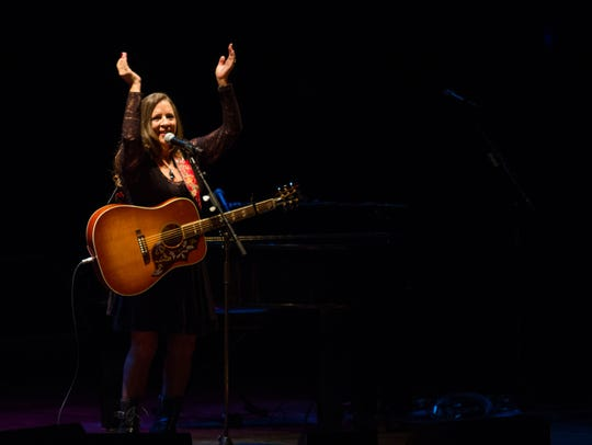 Country singer songwriter Carlene Carter opens for