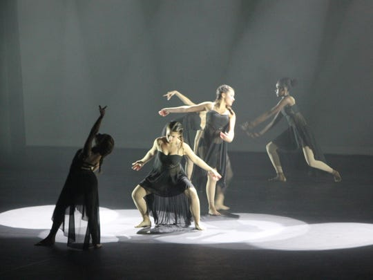 """Contemporary dancers perform to raise food for the hungry at last year's  """"Dance for Food."""""""