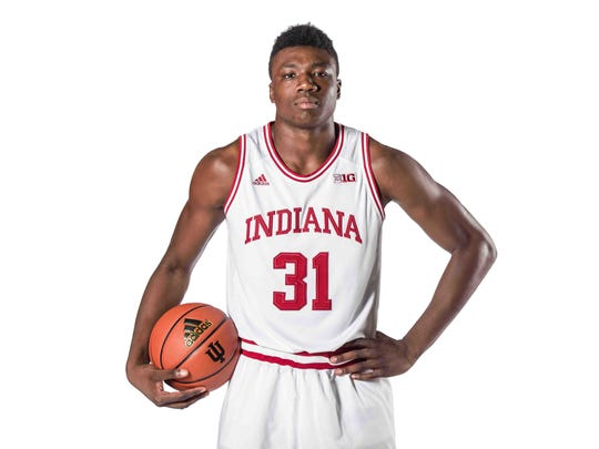 Thomas Bryant figures to be the key piece to the Hoosiers frontcourt.
