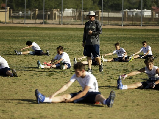 Casteel High Spring Football Workouts