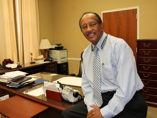 Former Selma Mayor George Evans took time to reflect on some of his many accomplishments during two terms as he cleaned out his office last week.