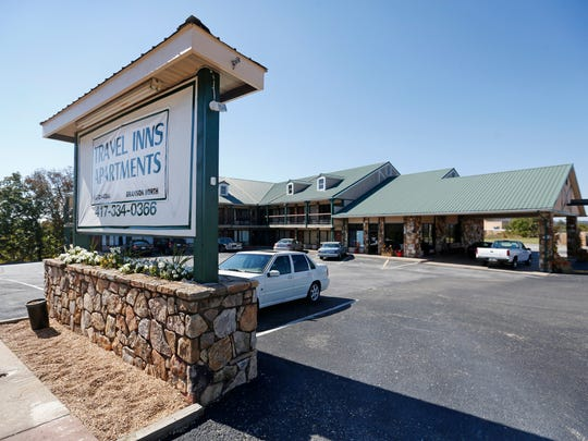 The Travel Inns Apartments in Branson, MO.