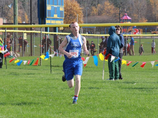 Jacon Appleton of Lima Christian won the Class D race by more than 30 seconds.