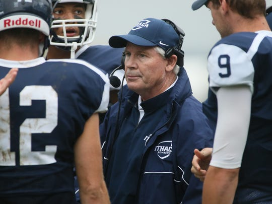 Mike Welch will coach his final Ithaca College football game Saturday against Cortland State.