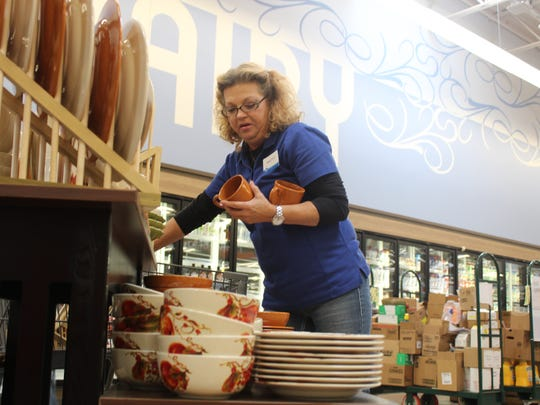 Camp Forbing Kroger Kitchenware Lead Patty Speer stocks