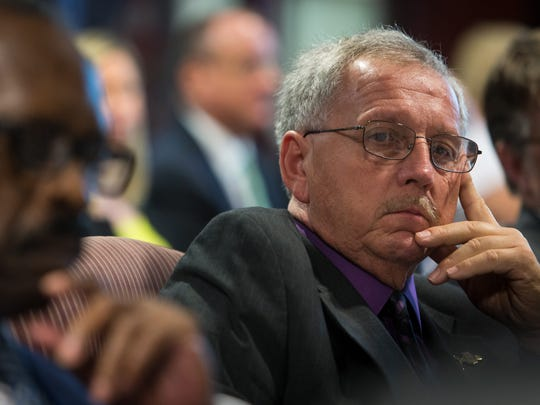 County Councilman George Smiley says a lack of pay increases for county workers has hurt retention in recent years.