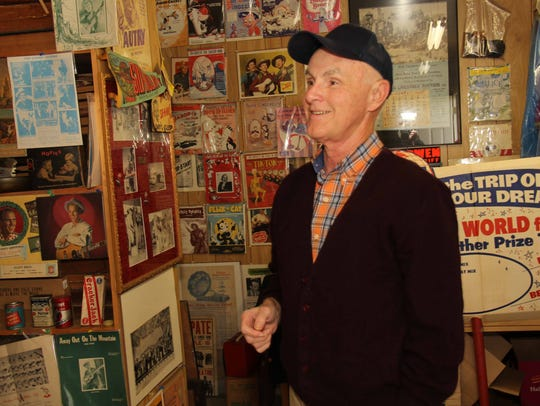 In fall 2013, Wayne Glenn gave a tour of his archive