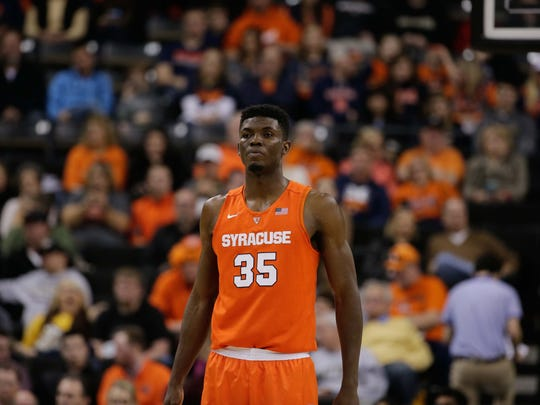Former Bishop Kearney star Chinonso Obokoh is now a graduate student and center for St. Bonaventure after playing sparingly in his career at Syracuse.