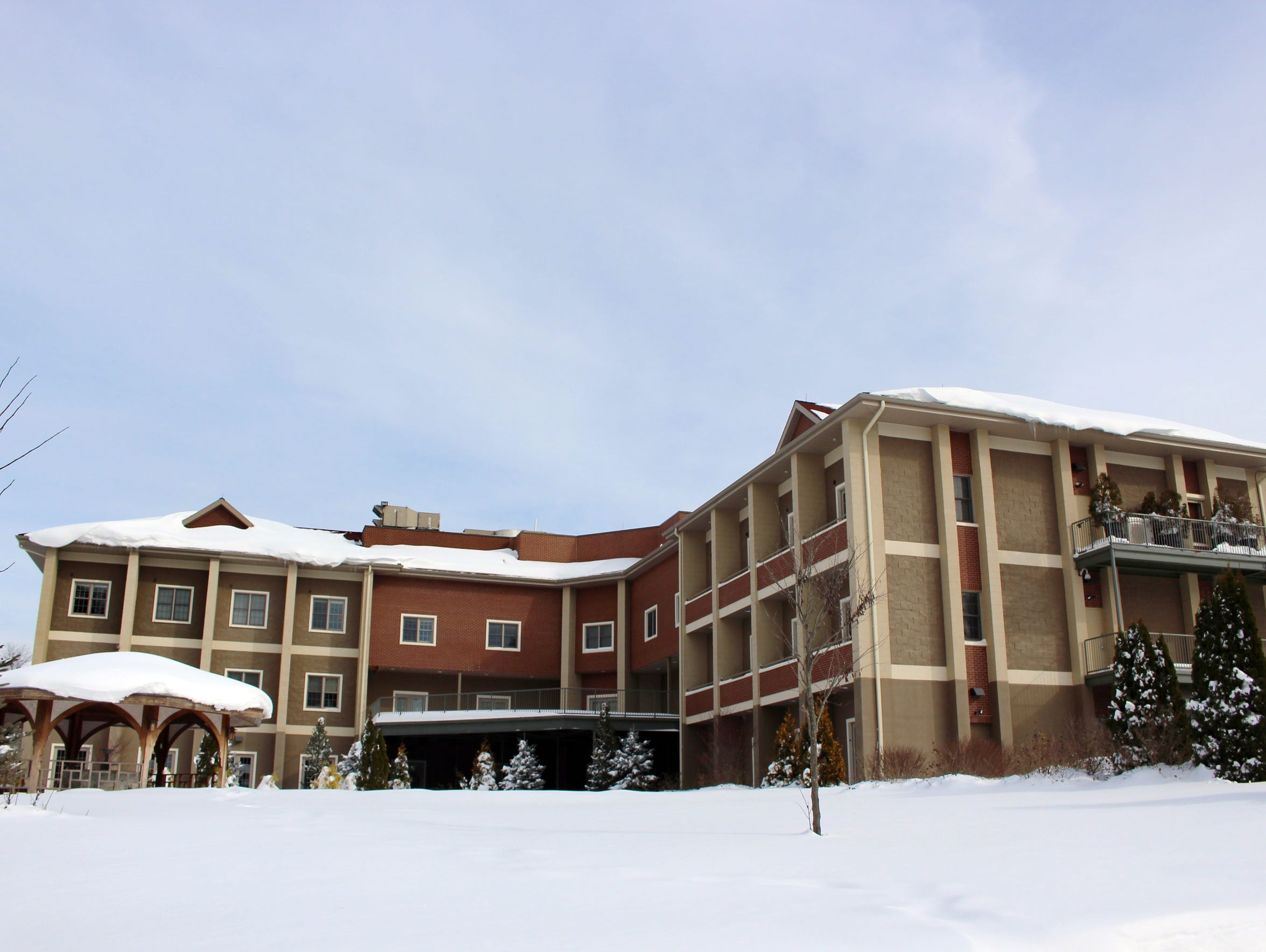 This Jan. 25 photo shows the multipurpose building