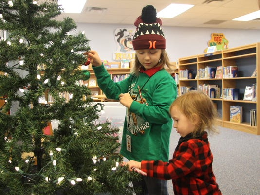 Carlsbad Public Library Christmas party