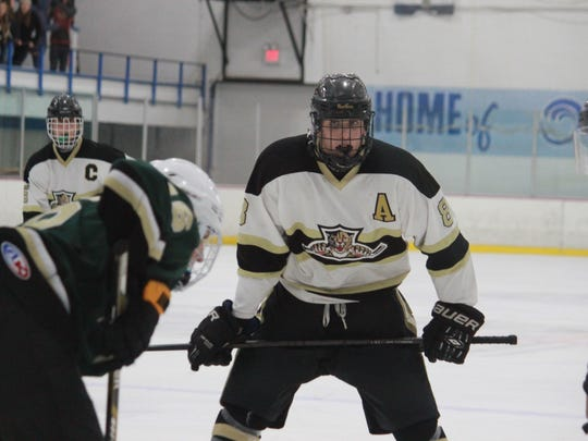 Ryan Carr (8) helped lead Point Boro past Brick Memorial Friday.