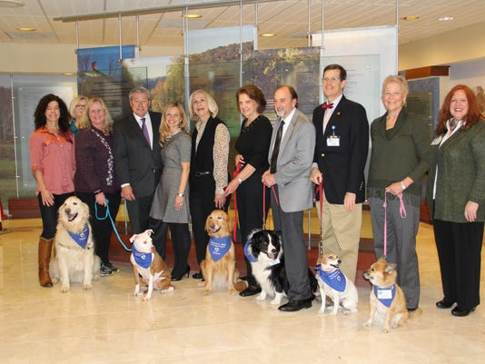 Heartbeats: Fourth Annual Ernest L. Wells Pet Therapy Volunteer Recognition Dinner held PHOTO CAPTION