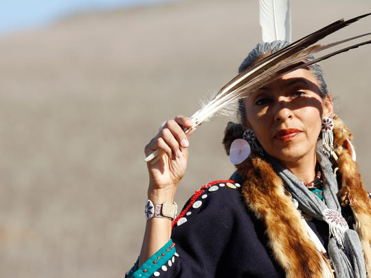 Kathy Willcuts from the Lakota tribe will be one of the performers dancing Saturday at the Satwiwa Native American Indian Cultural Center in Newbury Park.