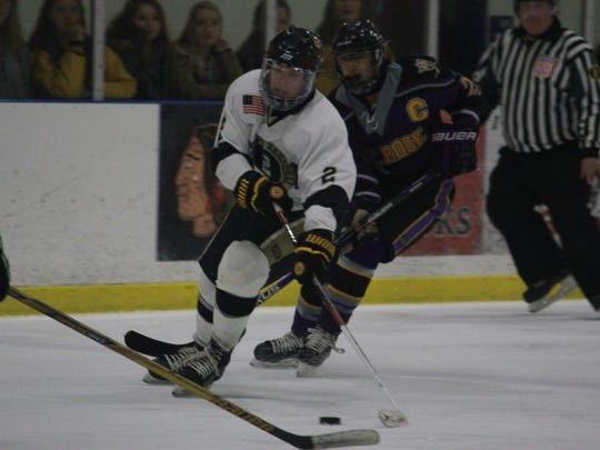 David Lytle (2) of Southern Regional recorded his second straight hat trick in a 5-1 win over St. Rose Monday.