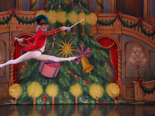 "The Moscow Ballet's ""Great Russian Nutcracker"" will take the stage for three performances Dec. 23-24 at the Plaza Theatre, Downtown."
