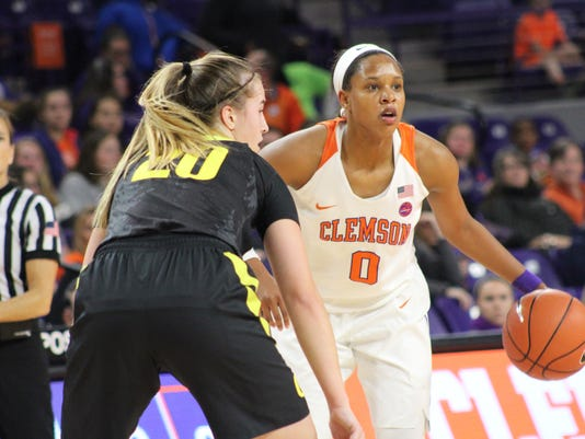 Clemson women's basketball Oregon