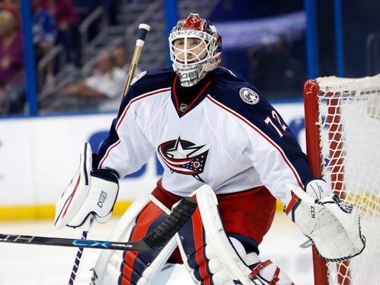 USP NHL: COLUMBUS BLUE JACKETS AT TAMPA BAY LIGHTN S HKN USA FL