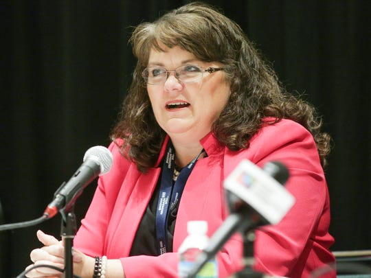 President, Indiana State Teachers Association, Teresa