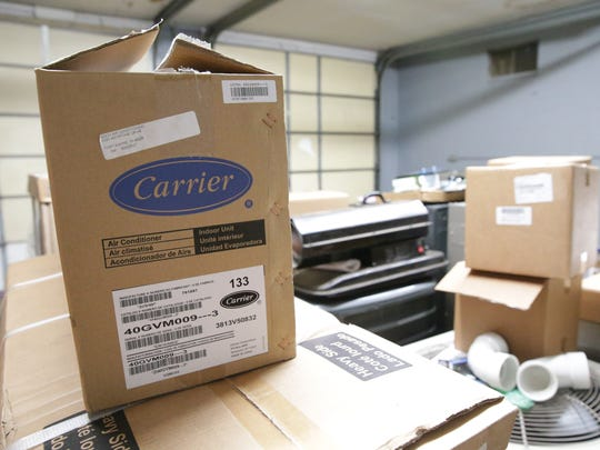 At Irish Air Heating and Cooling, sales declined 7 percent for about six weeks after Carrier's announcement, owner Jim Snyder said. But the majority of Carrier dealers, including Irish Air, are reporting sales growth for the year.